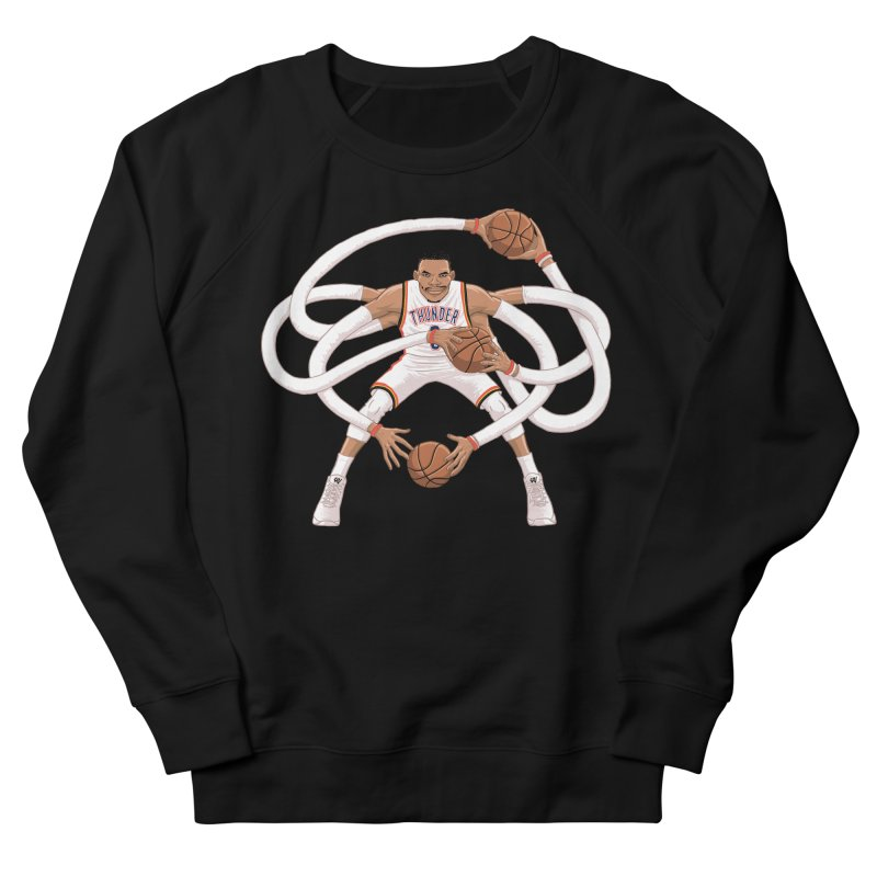 """Russell """"Mr. Triple Double"""" Westbrook - Home kit Men's French Terry Sweatshirt by dukenny's Artist Shop"""