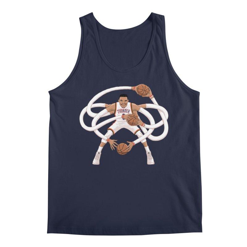 "Russell ""Mr. Triple Double"" Westbrook - Home kit Men's Regular Tank by dukenny's Artist Shop"