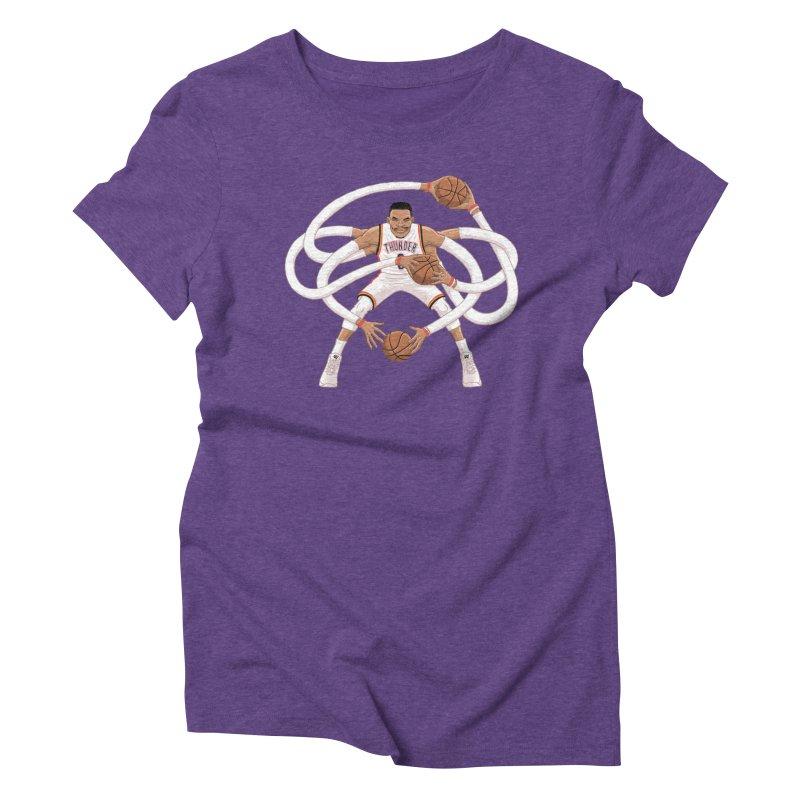 "Russell ""Mr. Triple Double"" Westbrook - Home kit Women's Triblend T-Shirt by dukenny's Artist Shop"