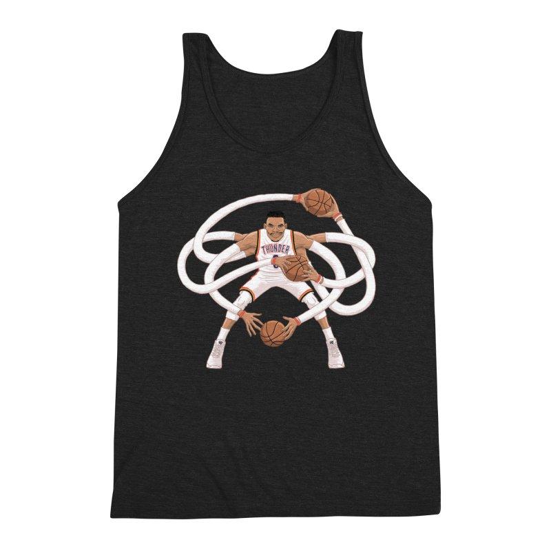 """Russell """"Mr. Triple Double"""" Westbrook - Home kit Men's Tank by dukenny's Artist Shop"""