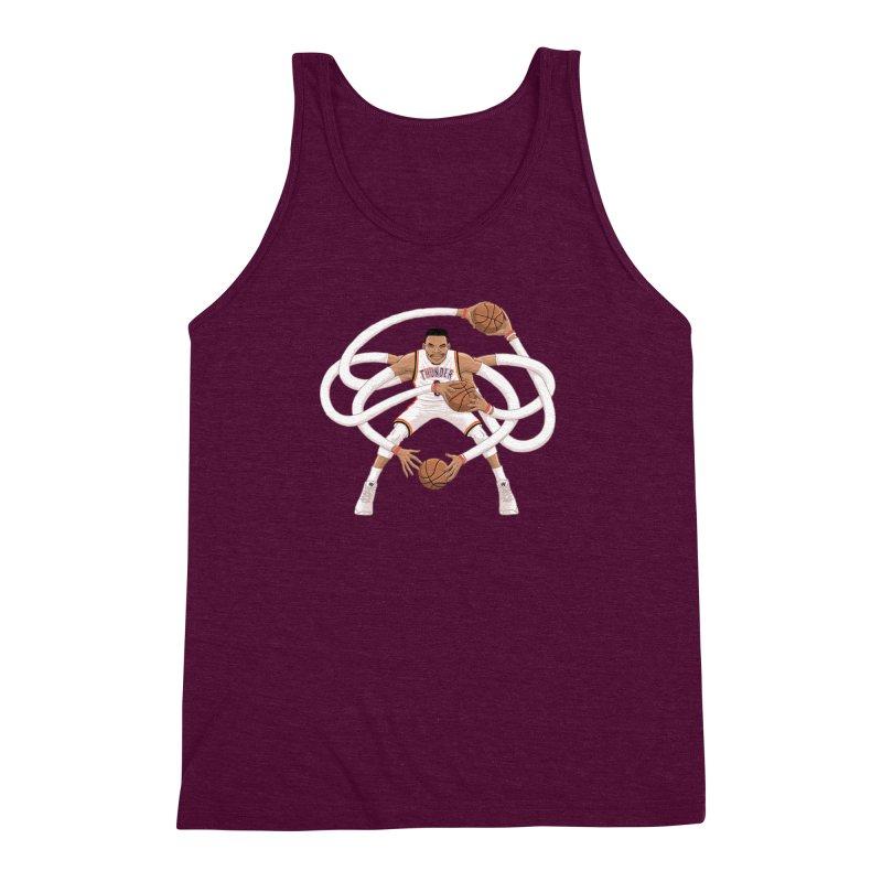 "Russell ""Mr. Triple Double"" Westbrook - Home kit Men's  by dukenny's Artist Shop"