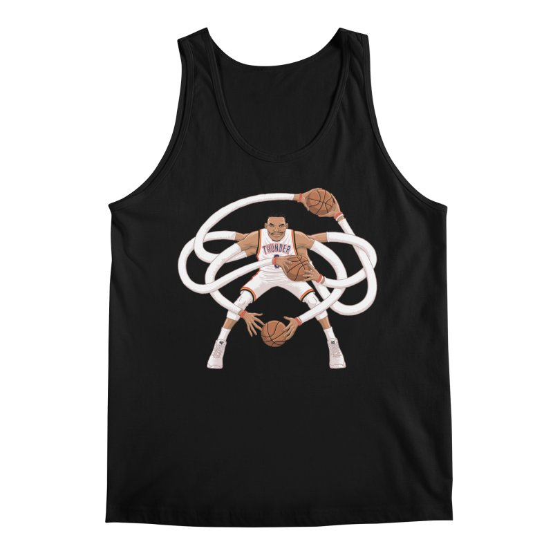"Russell ""Mr. Triple Double"" Westbrook - Home kit Men's Regular Tank by dukenny's Artist Shop"