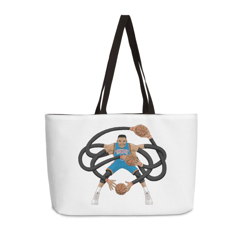 "Russell ""Mr. Triple Double"" Westbrook - road kit Accessories Bag by dukenny's Artist Shop"