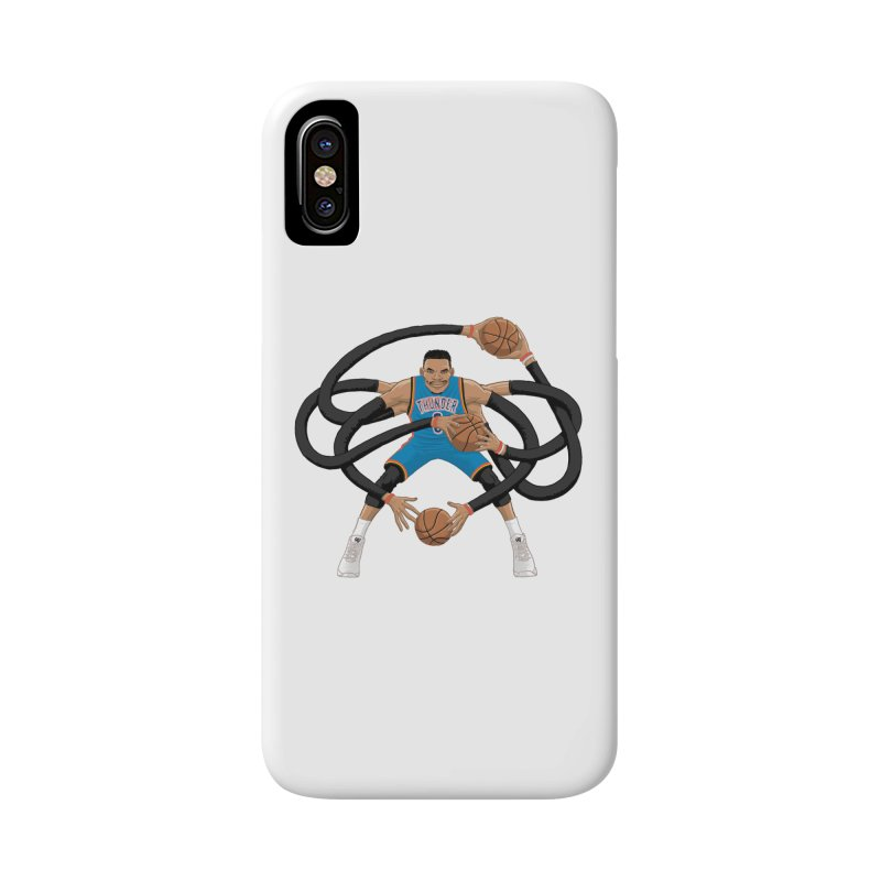 """Russell """"Mr. Triple Double"""" Westbrook - road kit Accessories Phone Case by dukenny's Artist Shop"""