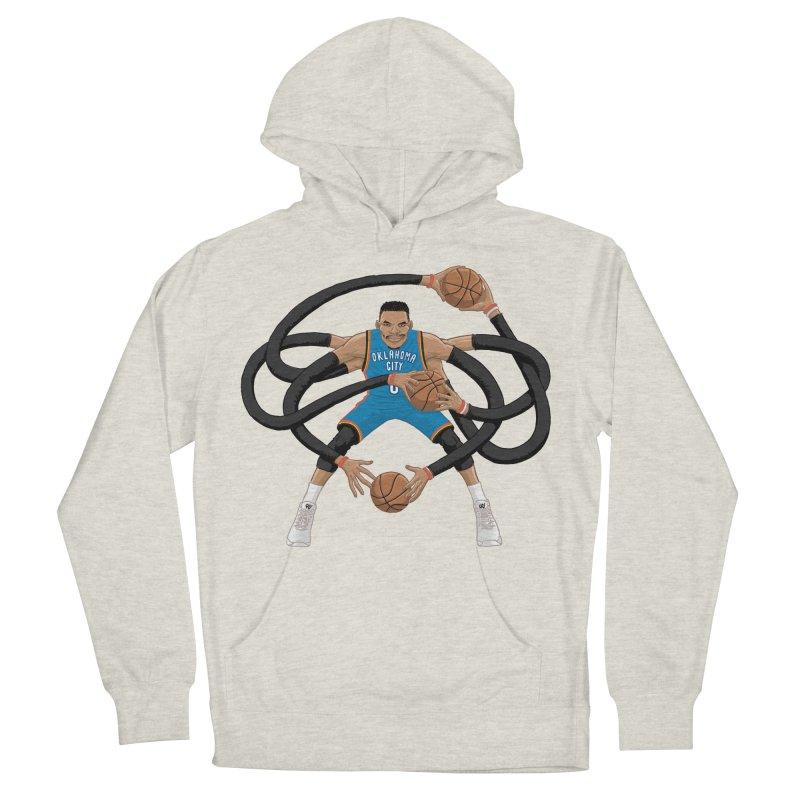 "Russell ""Mr. Triple Double"" Westbrook - road kit Women's Pullover Hoody by dukenny's Artist Shop"