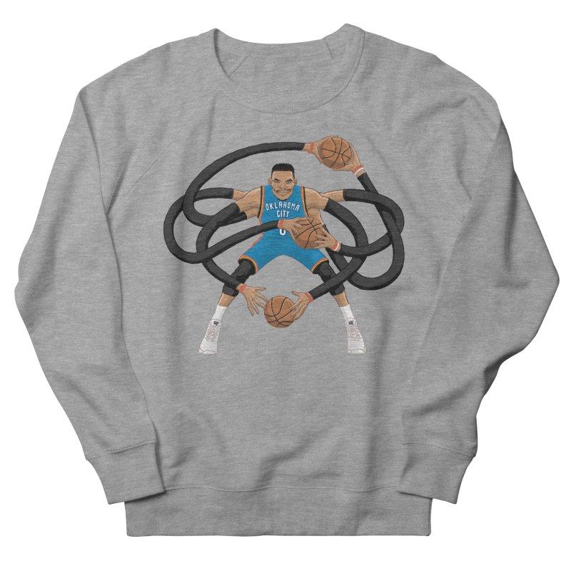 "Russell ""Mr. Triple Double"" Westbrook - road kit Women's French Terry Sweatshirt by dukenny's Artist Shop"