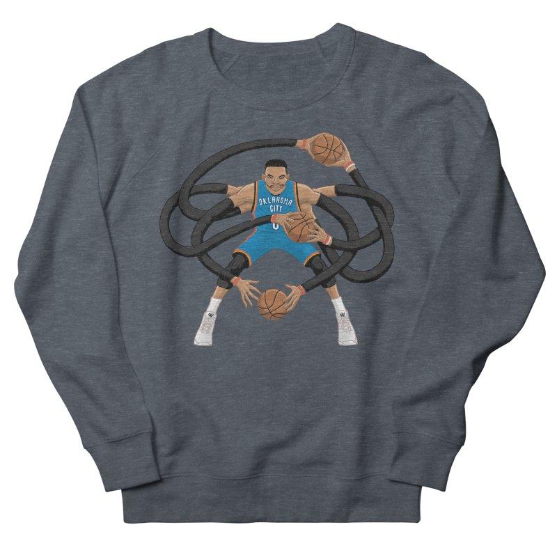 """Russell """"Mr. Triple Double"""" Westbrook - road kit Men's Sweatshirt by dukenny's Artist Shop"""