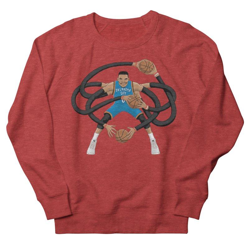 "Russell ""Mr. Triple Double"" Westbrook - road kit Men's French Terry Sweatshirt by dukenny's Artist Shop"