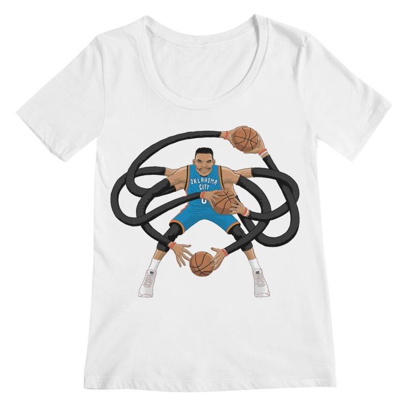 """Russell """"Mr. Triple Double"""" Westbrook - road kit Women's  by dukenny's Artist Shop"""