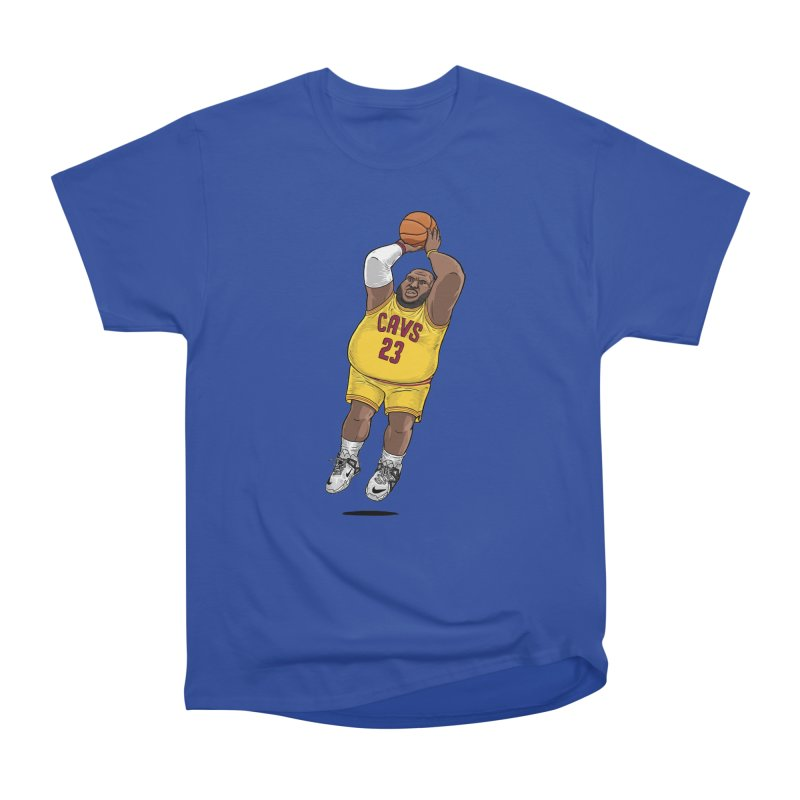 Fat LeBron - a.k.a. LeBrownie Men's T-Shirt by dukenny's Artist Shop