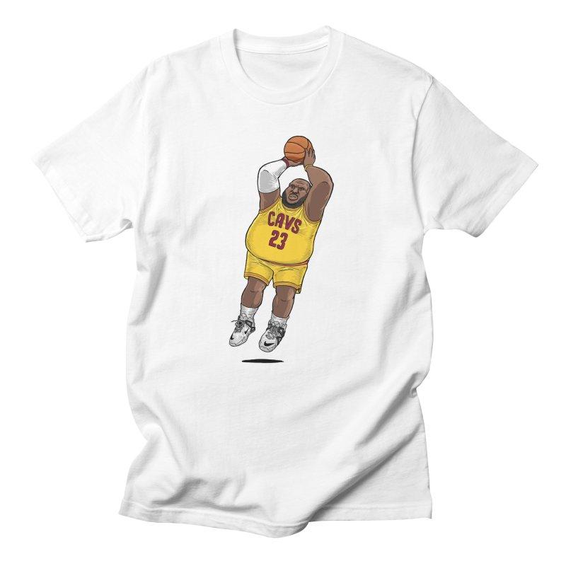 Fat LeBron - a.k.a. LeBrownie Men's T-Shirt by dukenny's Artist Shop
