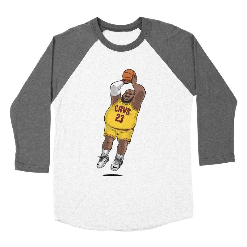 Fat LeBron - a.k.a. LeBrownie Women's Longsleeve T-Shirt by dukenny's Artist Shop