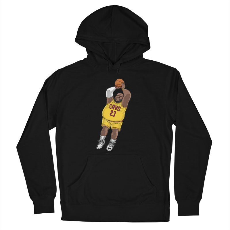 Fat LeBron - a.k.a. LeBrownie Women's French Terry Pullover Hoody by dukenny's Artist Shop