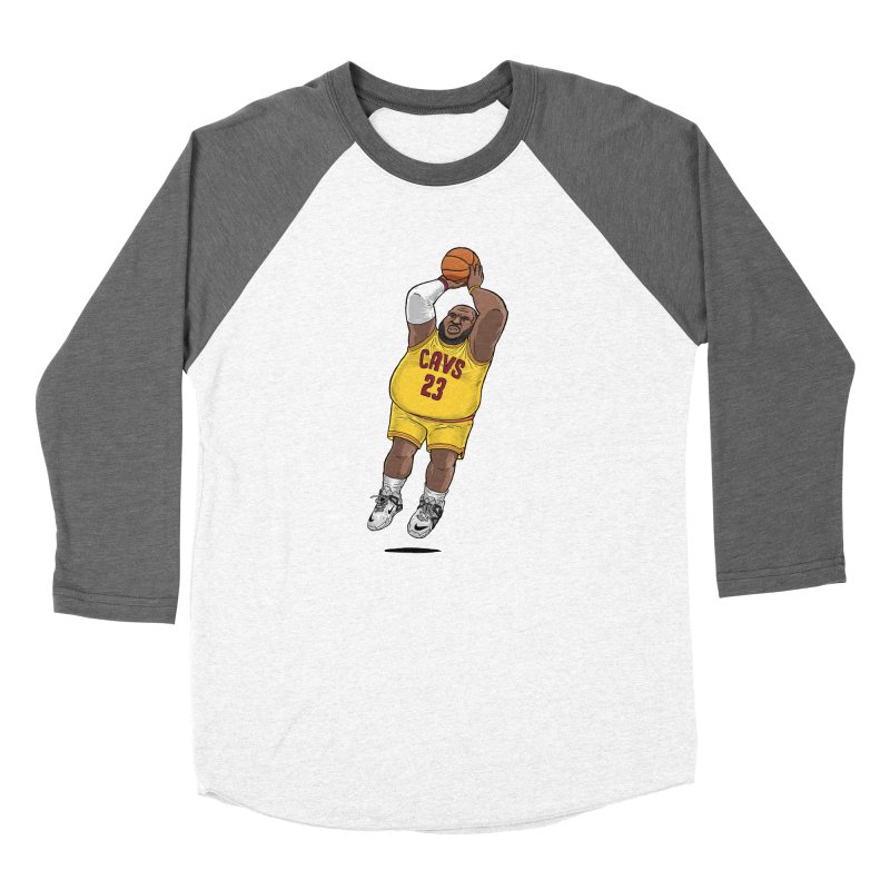 Fat LeBron - a.k.a. LeBrownie Men's Longsleeve T-Shirt by dukenny's Artist Shop