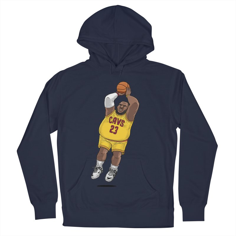 Fat LeBron - a.k.a. LeBrownie Men's Pullover Hoody by dukenny's Artist Shop