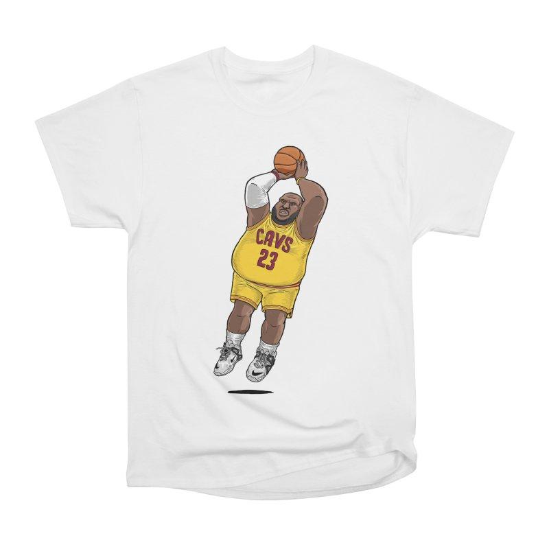 Fat LeBron - a.k.a. LeBrownie Men's Heavyweight T-Shirt by dukenny's Artist Shop