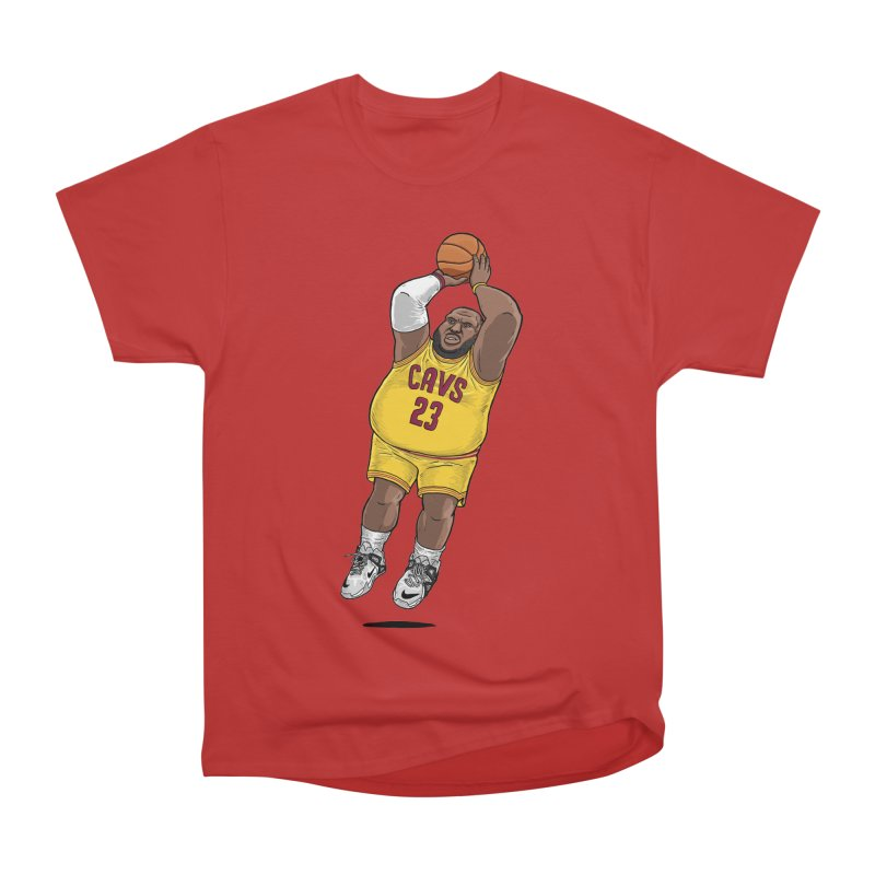 Fat LeBron - a.k.a. LeBrownie Men's Classic T-Shirt by dukenny's Artist Shop