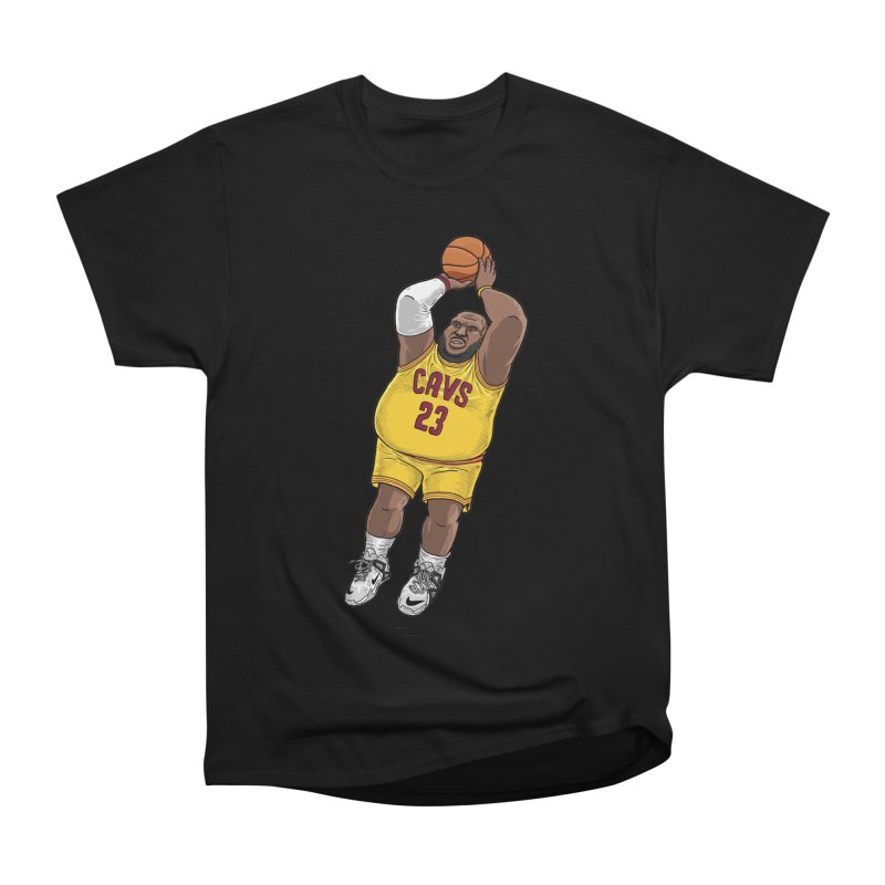 Fat LeBron - a.k.a. LeBrownie Women's Heavyweight Unisex T-Shirt by dukenny's Artist Shop