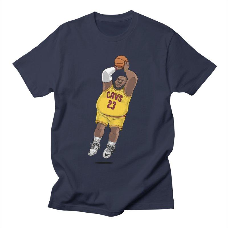 Fat LeBron - a.k.a. LeBrownie Women's Regular Unisex T-Shirt by dukenny's Artist Shop