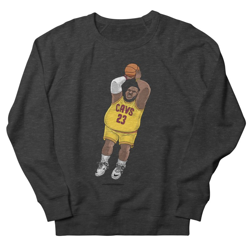 Fat LeBron - a.k.a. LeBrownie Women's French Terry Sweatshirt by dukenny's Artist Shop