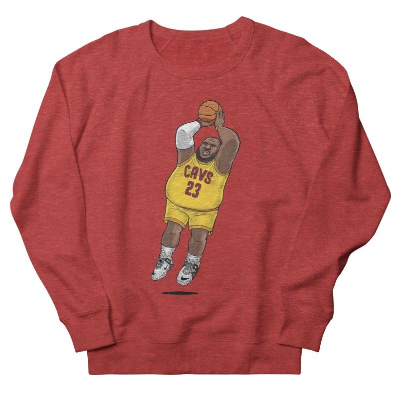 Fat LeBron - a.k.a. LeBrownie Women's Sweatshirt by dukenny's Artist Shop
