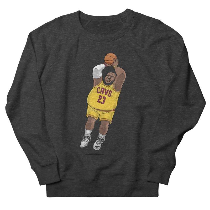 Fat LeBron - a.k.a. LeBrownie Men's French Terry Sweatshirt by dukenny's Artist Shop