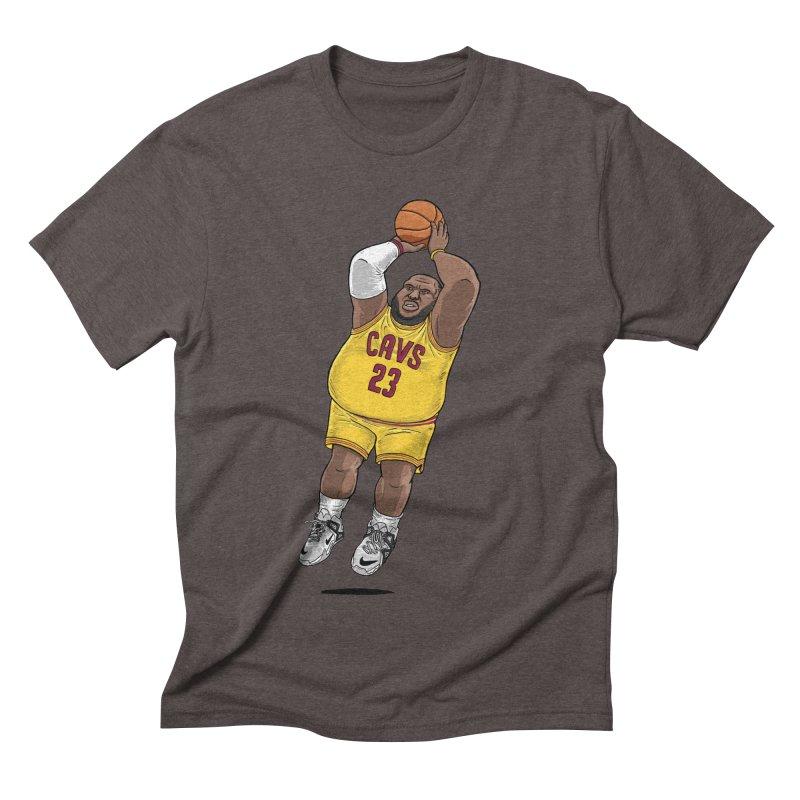 Fat LeBron - a.k.a. LeBrownie Men's Triblend T-Shirt by dukenny's Artist Shop