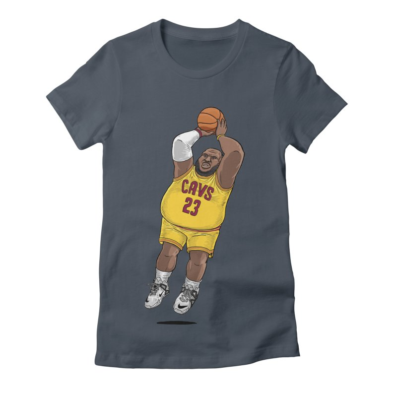 Fat LeBron - a.k.a. LeBrownie Women's T-Shirt by dukenny's Artist Shop
