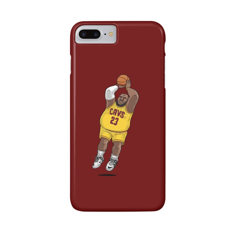 Fat LeBron - a.k.a. LeBrownie Accessories Phone Case by dukenny's Artist Shop