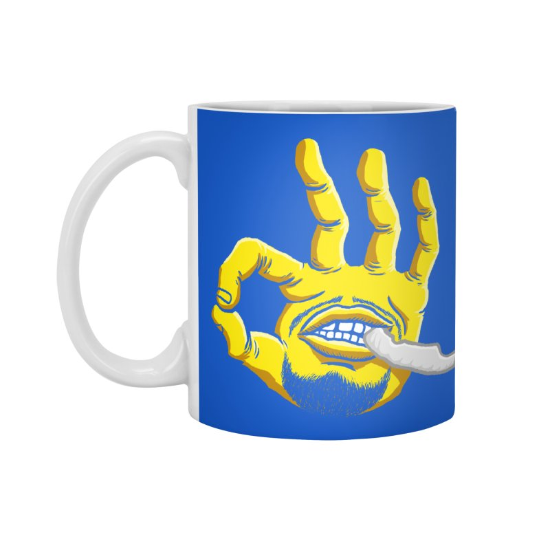 Curry Hand Accessories Mug by dukenny's Artist Shop