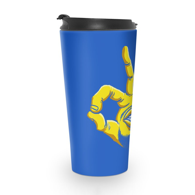 Curry Hand Accessories Travel Mug by dukenny's Artist Shop