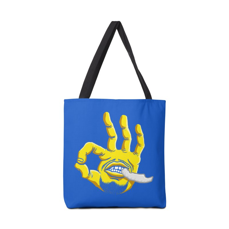 Curry Hand Accessories Bag by dukenny's Artist Shop