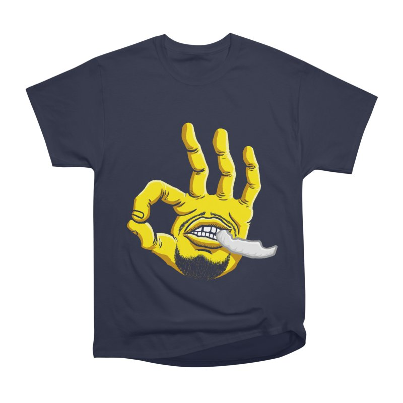 Curry Hand Women's Heavyweight Unisex T-Shirt by dukenny's Artist Shop