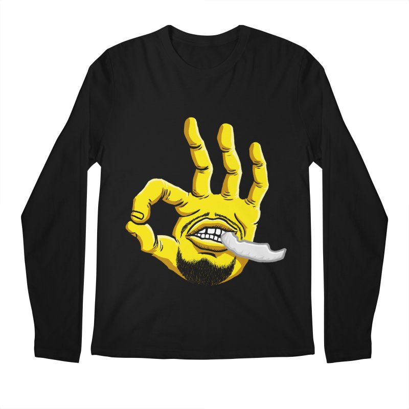 Curry Hand Men's Regular Longsleeve T-Shirt by dukenny's Artist Shop