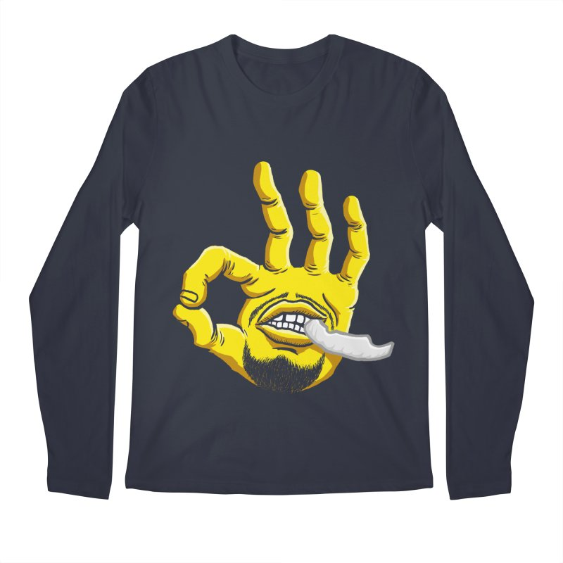 Curry Hand Men's Longsleeve T-Shirt by dukenny's Artist Shop