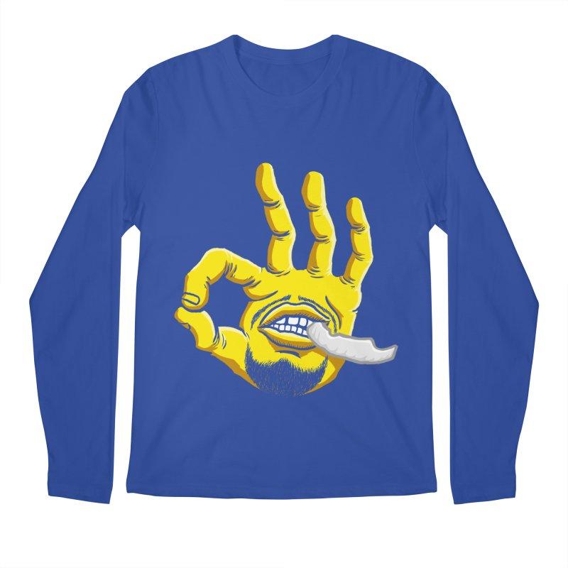 Curry Hand Men's Regular Longsleeve T-Shirt by dukenny's Artist Shop