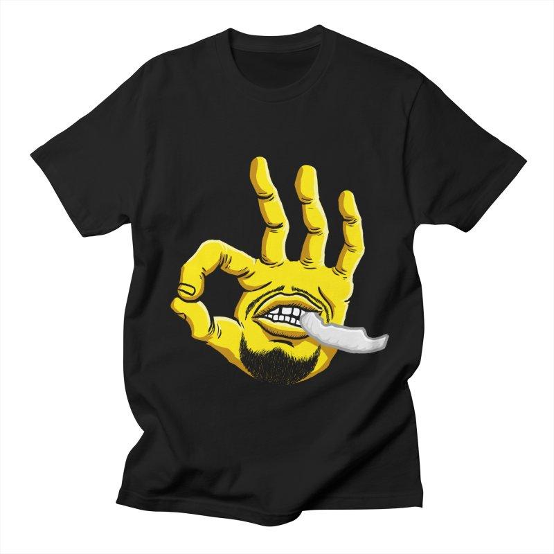 Curry Hand Men's Regular T-Shirt by dukenny's Artist Shop