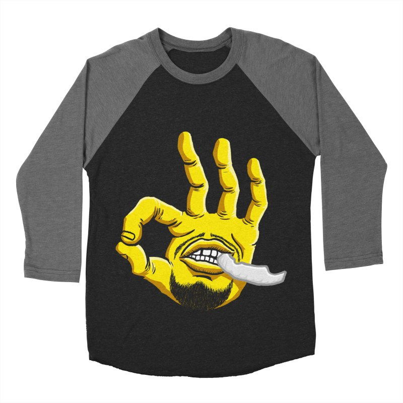 Curry Hand Men's Baseball Triblend Longsleeve T-Shirt by dukenny's Artist Shop