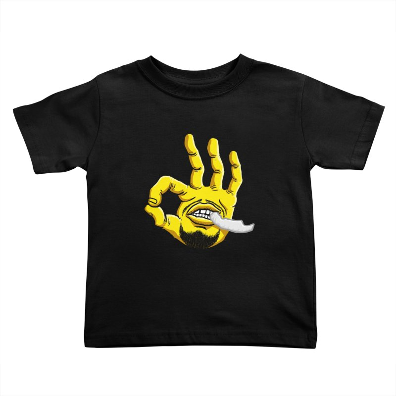 Curry Hand Kids Toddler T-Shirt by dukenny's Artist Shop