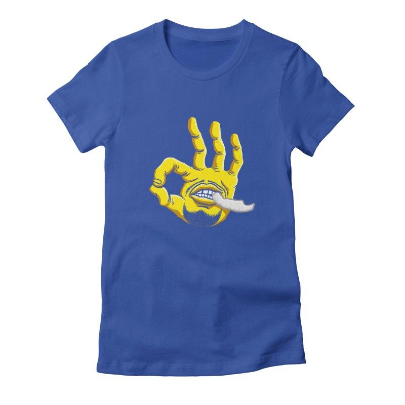Curry Hand Women's T-Shirt by dukenny's Artist Shop