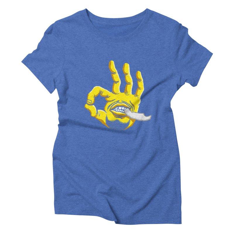 Curry Hand Women's Triblend T-Shirt by dukenny's Artist Shop
