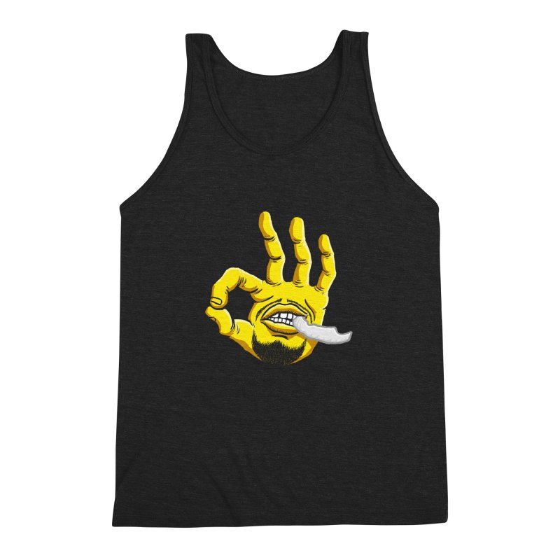 Curry Hand Men's Triblend Tank by dukenny's Artist Shop