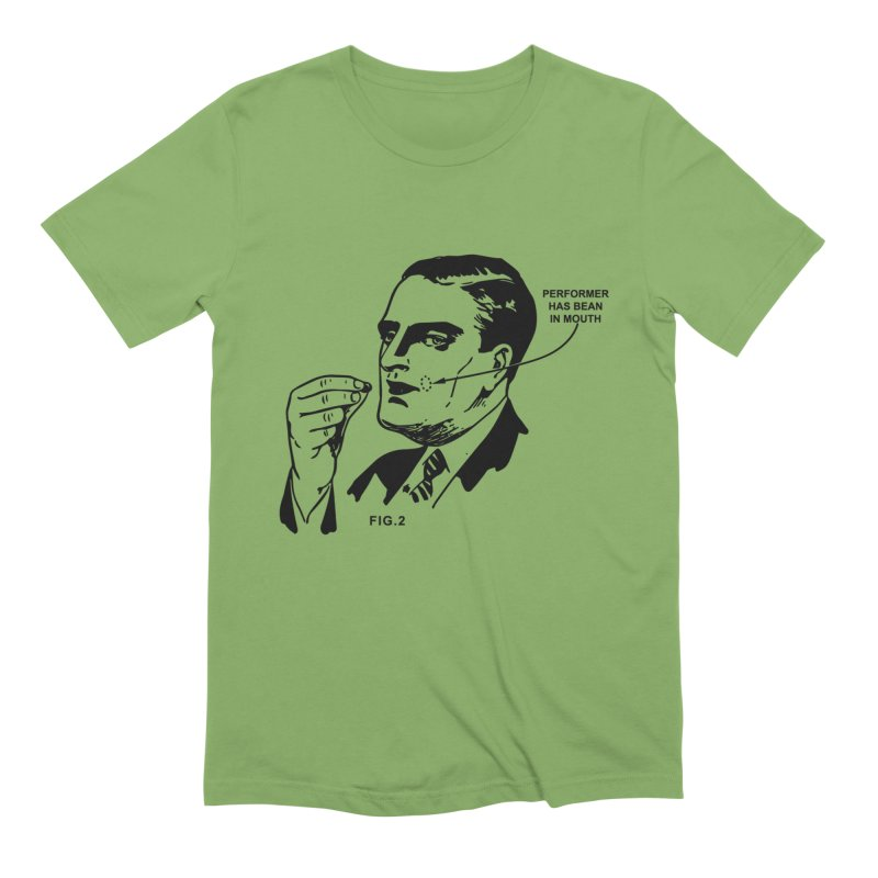 Bean Men's T-Shirt by The Dumb Houdini Shop