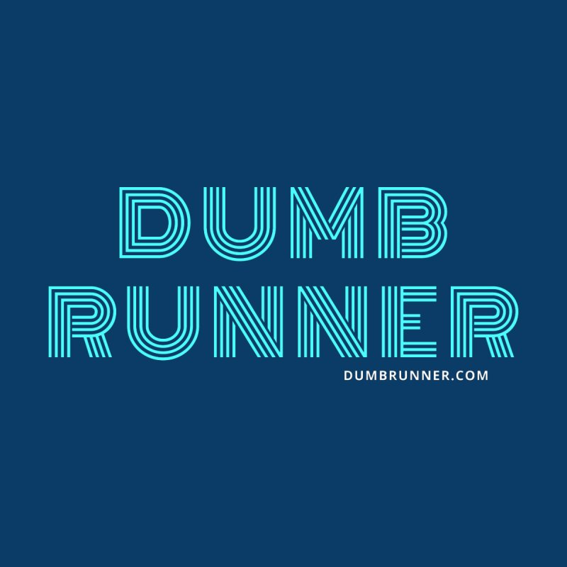 Dumb Funky Runner (Blue) by Dumb Runner's Artist Shop