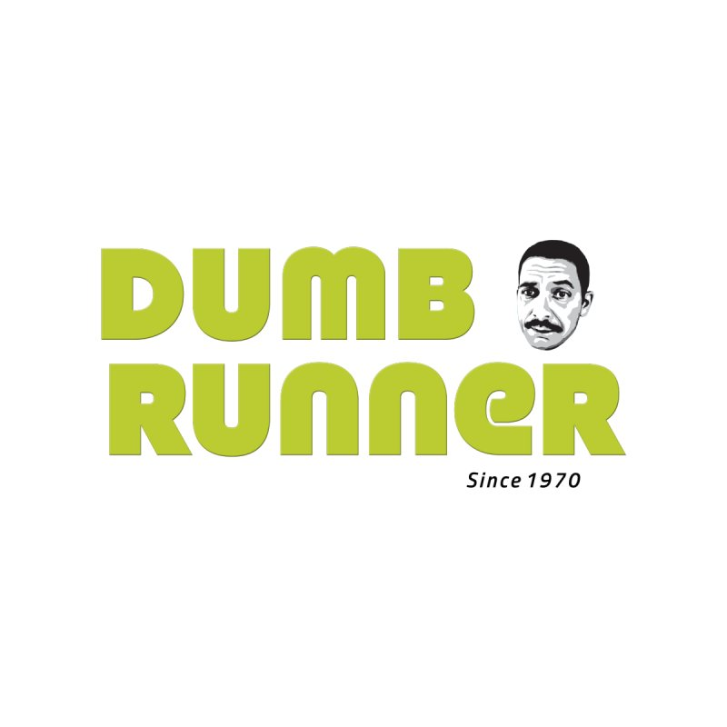 Retro Logo Green Men's T-Shirt by Dumb Runner's Artist Shop