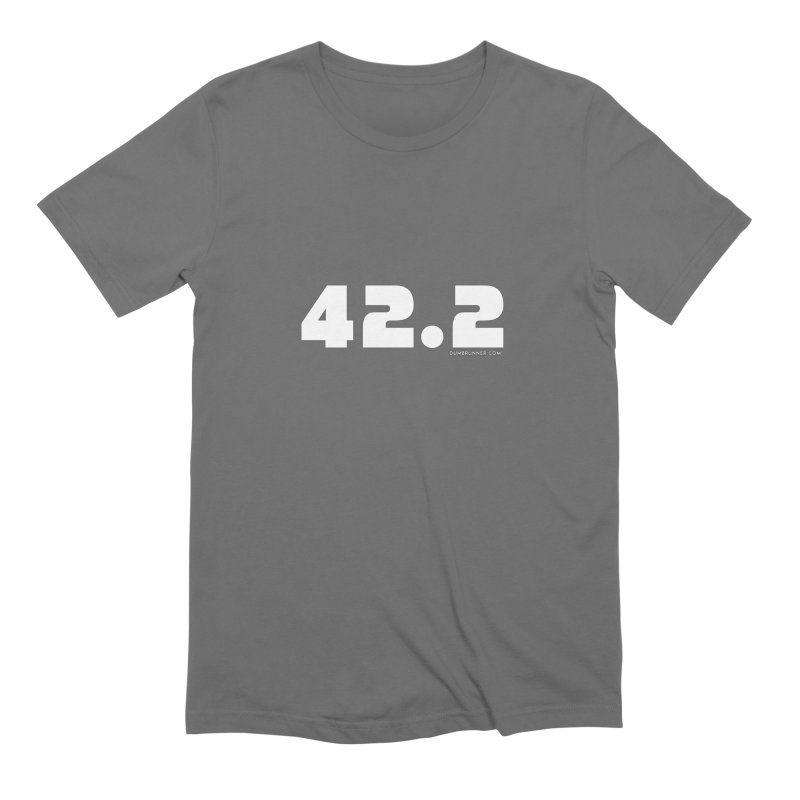 42.2 Men's T-Shirt by Dumb Runner's Artist Shop