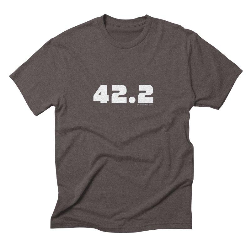 42.2 Men's Triblend T-Shirt by Dumb Runner's Artist Shop