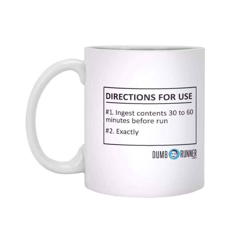 Number 2 Accessories Mug by Dumb Runner's Artist Shop