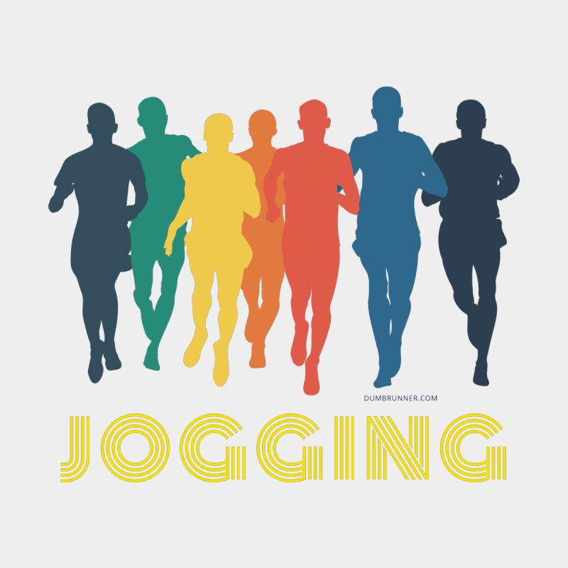 JOGGING by Dumb Runner's Artist Shop