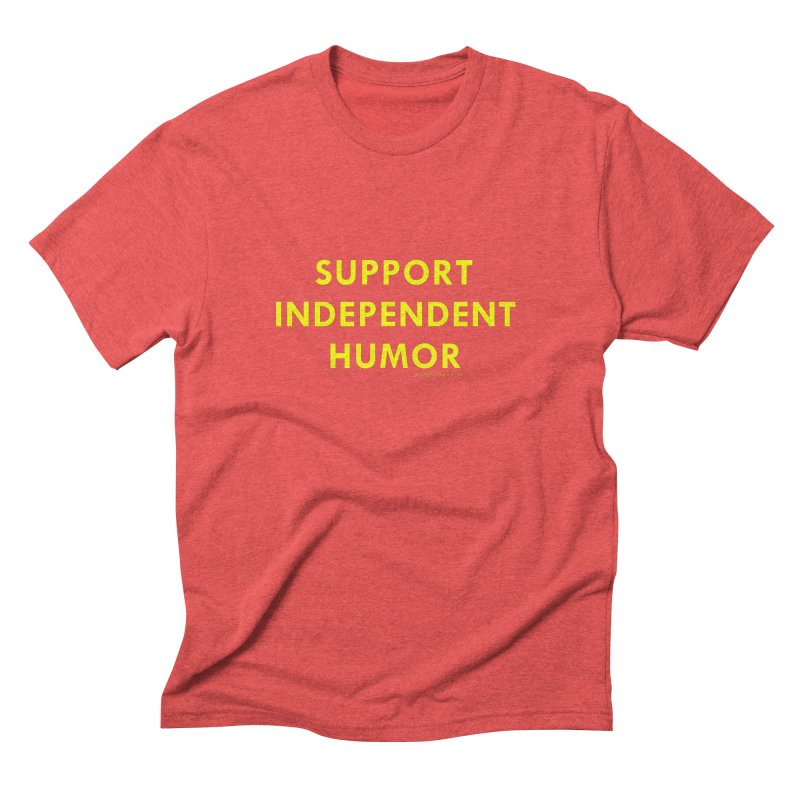 Indie Humor Men's Triblend T-Shirt by Dumb Runner's Artist Shop